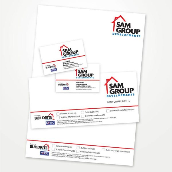 printed business stationery pack