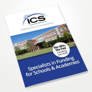 printed company brochure